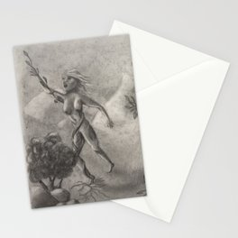 Women Transform'd to Trees Stationery Cards