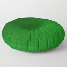 Emerald Green Ombre Design Floor Pillow