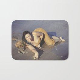 Mermaid Came Ashore Bath Mat