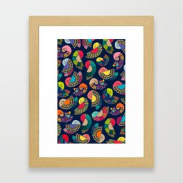 The dance Framed Art Print