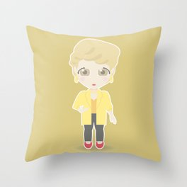 Girls in their Golden Years - Blanche Throw Pillow