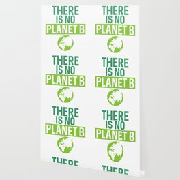 There Is No Planet B Support Green Environmentalism Wallpaper