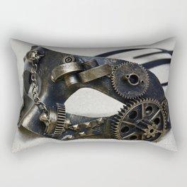 Steampunk mask Rectangular Pillow