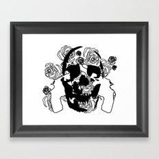 Love Vs. War Framed Art Print