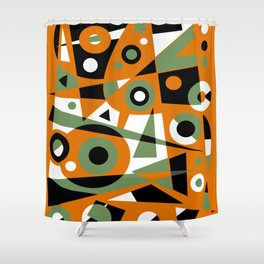 Abstract #977 Shower Curtain