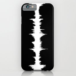 No Way - Music Wave iPhone Case