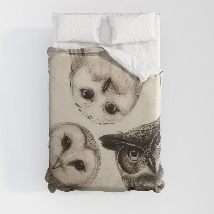 The Owl's 3 Duvet Cover