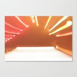beaming Canvas Print