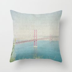 Letters From Lisbon Throw Pillow