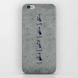 Forms of Prayer - White iPhone Skin
