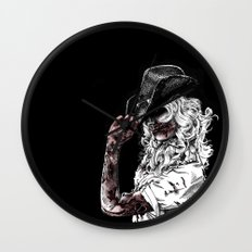 Tip of the Hat Wall Clock