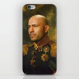 Joe Rogan Poster, Comedian, Podcast, Classical Painting as General, Regal art iPhone Skin