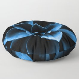 Dark Blue Succulent Plant #decor #society6 #homedecor Floor Pillow