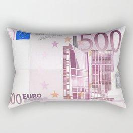 500 Euro note Rectangular Pillow