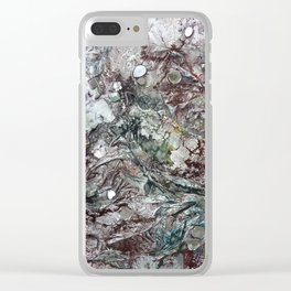 Utopia Here Clear iPhone Case