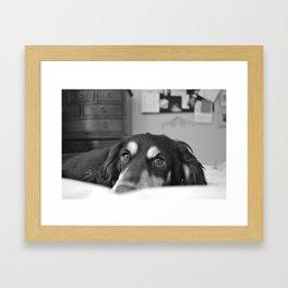 Exhale Framed Art Print