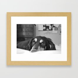 Exhale Framed Art Print