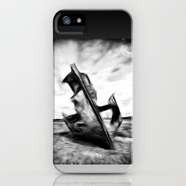 Ghostly Wreck iPhone Case