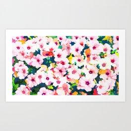Summer Meadow #nature #summer Art Print