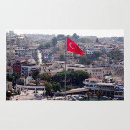 Flag of Turkey Rug