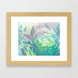Enchanted Forest Floor III Framed Art Print