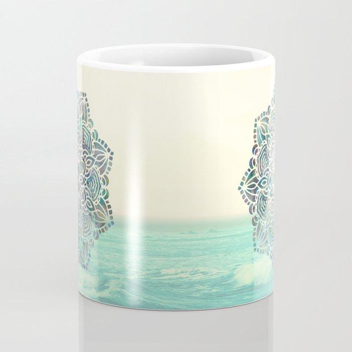 Mandala Mermaid Oceana Coffee Mug