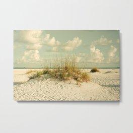 Tropical Beach Vibes Metal Print