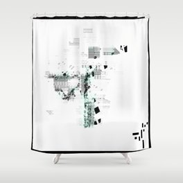 REM Shower Curtain
