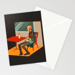 solipsism syndrome Stationery Cards