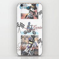 moto iPhone & iPod Skins featuring Moto Kids by Connie Campbell