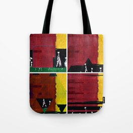 study of four compositions Tote Bag