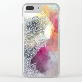 Dark Side of the Moon Clear iPhone Case