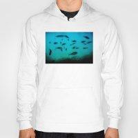 underwater Hoodies featuring Underwater by Situs
