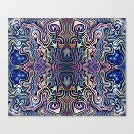 Primordial Sublimation Pattern Canvas Print