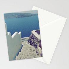 Santorini Stairs III Stationery Cards