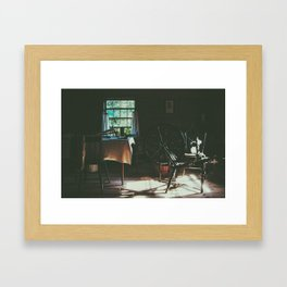 in a different time Framed Art Print