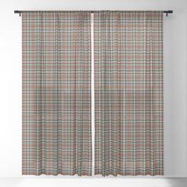 Bruce of Kinnaird Tartan Plaid Sheer Curtain