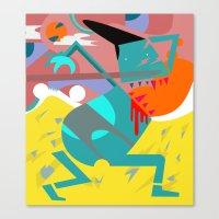desert Canvas Prints featuring Desert by SMLE™