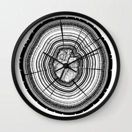 Heartwood Wall Clock