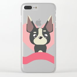 Doggy love Clear iPhone Case