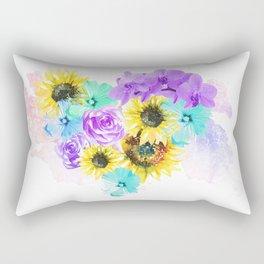 Floral Overdose Rectangular Pillow