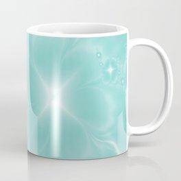 Fleur de Nuit in Aqua Tone Coffee Mug