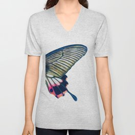 Butterfly right wing - find the left wing in my store :) Unisex V-Neck
