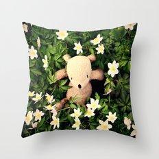 Yeah, Spring flowers Throw Pillow