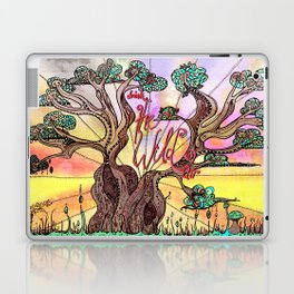 Drink the Wild Air by Rosemary Knowles, aka MaxillaMellifer Laptop & iPad Skin