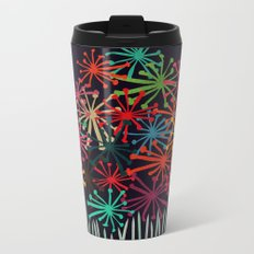 Flower Bouquet Metal Travel Mug