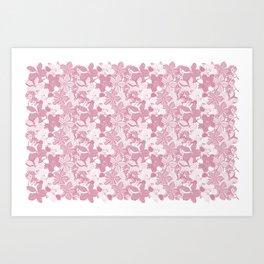 Flower Pink Art Print