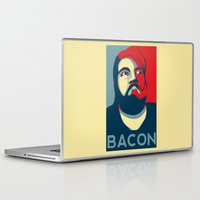 bacon Laptop & iPad Skins featuring BACON by MezmoreyezGaming