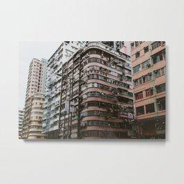 Kowloon Density Metal Print