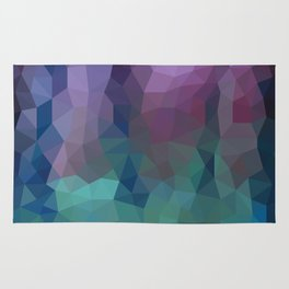 Shades of Amethyst Low Poly Rug